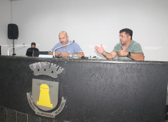 CÂMARA MUNICIPAL DE ALMENARA REALIZA REUNIÃO PARA COMPOSIÇÃO DAS COMISSÕES PERMANENTES, DE ÉTICA E DECORO PARLAMENTAR DA CASA