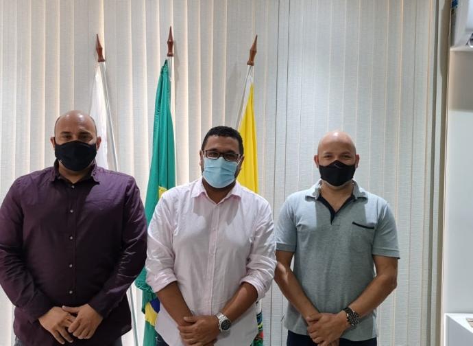 EXCLUSIVO: Prefeito Ademir Gobira e presidente da Câmara Nata da CDN se reúnem com presidente da UMVALE