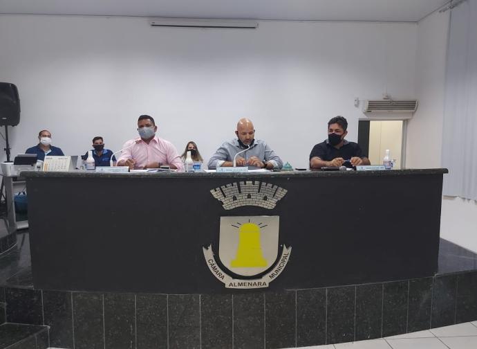 Câmara Municipal de Almenara realiza a oitava Reunião Ordinária do ano 2021