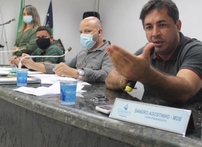 Câmara Municipal de Almenara realiza 22ª Reunião Ordinária do ano de 2021